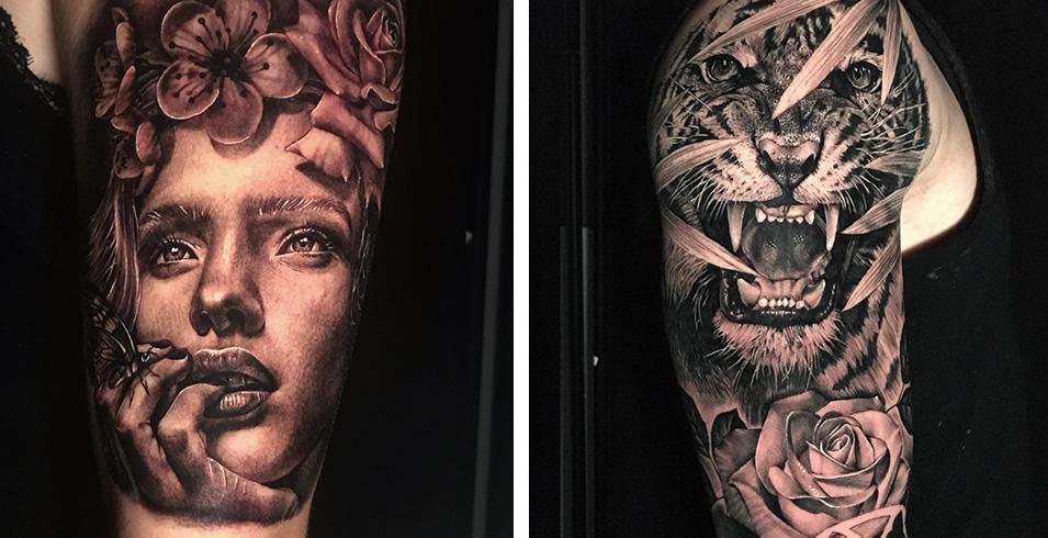 Artistes-Tatoueurs-Besancon-Tattoo-Show-Convention-tatouage-2020-Arnaud Pradier Tattoist - Sang Noir Tattoo Shop - France-1