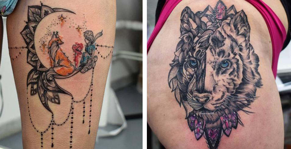 Artistes-Tatoueurs-Besancon-Tattoo-Show-Convention-tatouage-2020-Arnacotik - Lion 'l' Tatouage - France-1