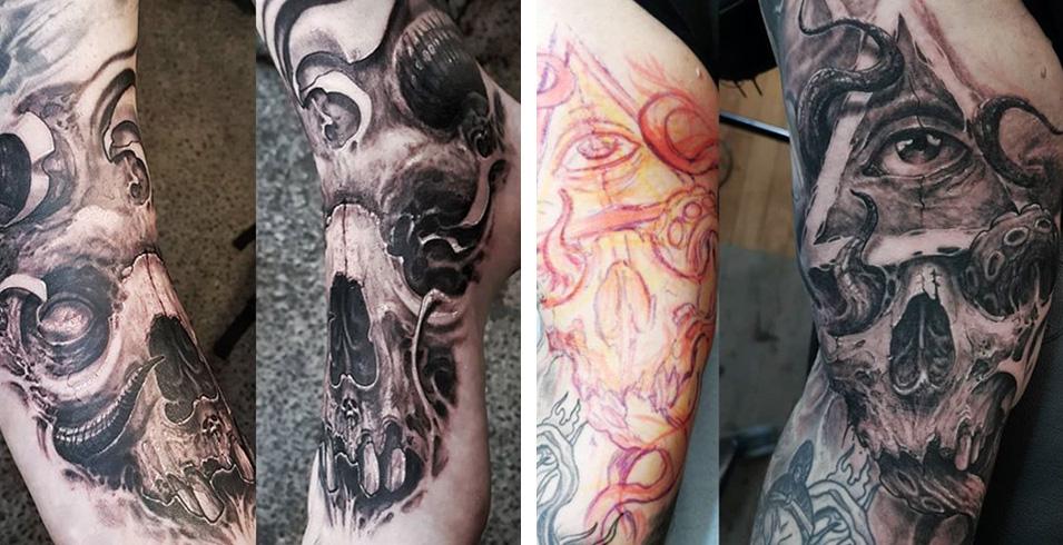 Artistes-Tatoueurs-Besancon-Tattoo-Show-Convention-tatouage-2020-Arno B - Dark Experience - France-1