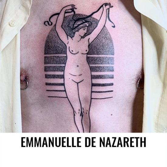 Emmanuelle De Nazareth - La Boucherie Moderne - Belgique-2-Artistes-Tatoueurs-Besancon-Tattoo-Show-Convention-tatouage-2020-