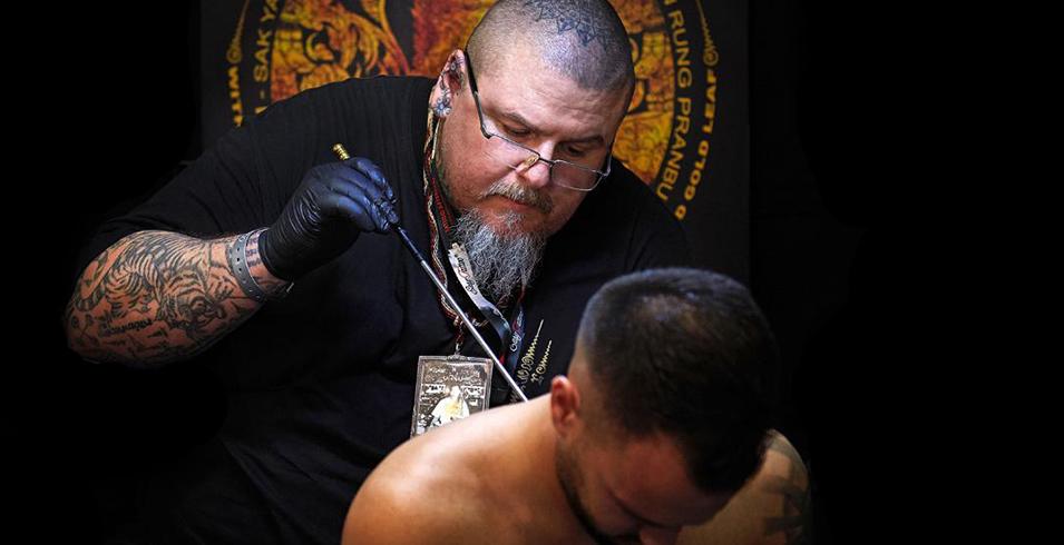 Artistes-Tatoueurs-Besancon-Tattoo-Show-Convention-tatouage-2020-Ajarn Matthieu - Thai Sacred Tatoos - Thaïlande-2