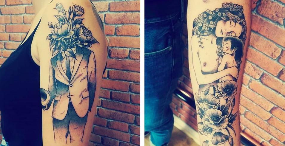 Artistes-Tatoueurs-Besancon-Tattoo-Show-Convention-tatouage-2020-Haddock - Les Imprimeurs - France