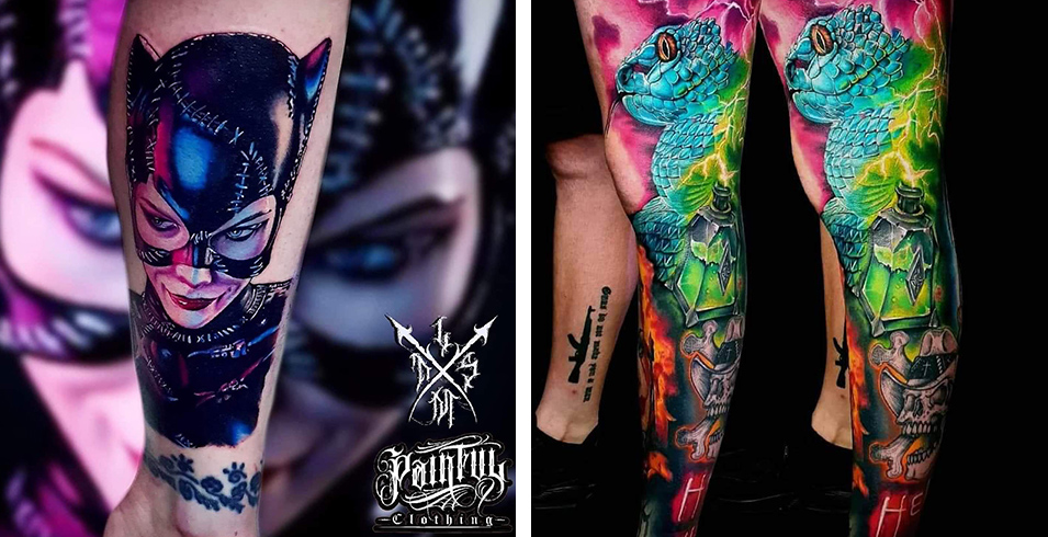 Artistes-Tatoueurs-Besancon-Tattoo-Show-Convention-tatouage-2020-Inkolor_Addikt - Le Manoir Tattoo Shop - France