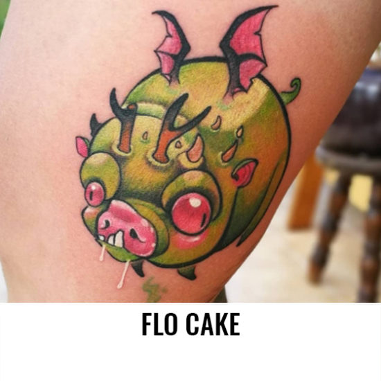 Flo Cake - Cake Tattoo - France-Artistes-Tatoueurs-Besancon-Tattoo-Show-Convention-tatouage-2020-VG-