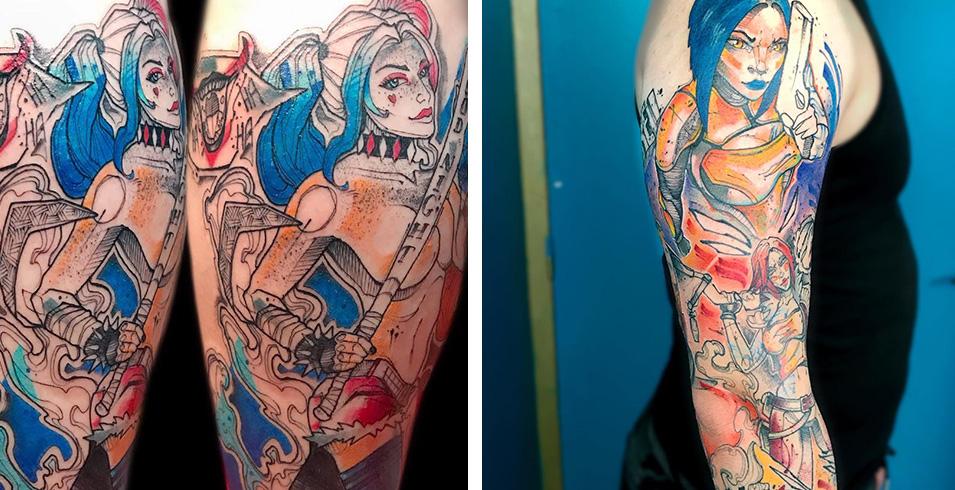 Flozion - L'age D'encre Tattoo Shop - France-Artistes-Tatoueurs-Besancon-Tattoo-Show-Convention-tatouage-2020-