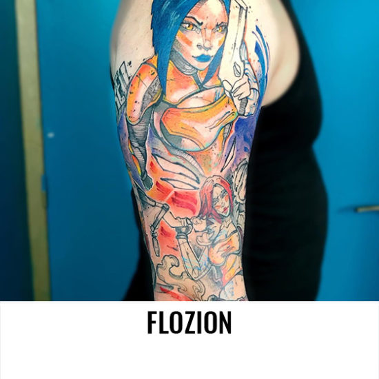 Flozion - L'age D'encre Tattoo Shop - France-Artistes-Tatoueurs-Besancon-Tattoo-Show-Convention-tatouage-2020-VG-