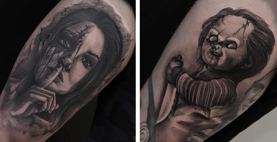 Franky L'affreux - Lanterne noire - France-Artistes-Tatoueurs-Besancon-Tattoo-Show-Convention-tatouage-2020-
